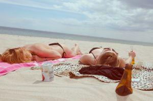 Tumbonas para la playa